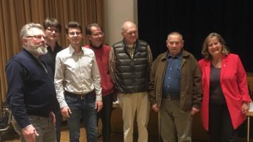 Gewinner Schafkopfrennen mit SPD-Vertretern