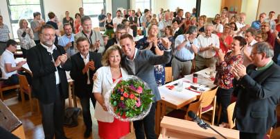 Glückwünsche an Annette Ganssmüller-Maluche zur Nominierung als Landratskandidatin