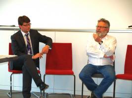 Harald Müller steht Rede und Antwort (mit Florian Spirkl)