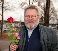 Rosenaktion Valentinstag