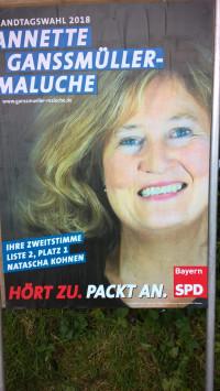 Plakat Landtagswahl