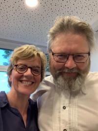 Harald Müller mit Natascha Kohnen (Vorsitzende BayernSPD)